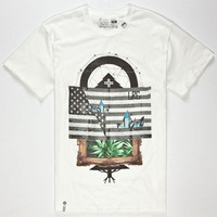 Lrg Cut Up Tree Mens T-Shirt White  In Sizes