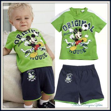 Mickey Mouse Shorts and T-shirt Set