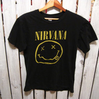 Nirvana T-Shirt, Size Small