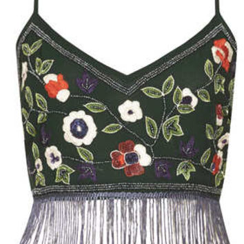 CRAFT FLORAL BRALET