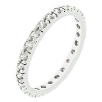 Cz Eternity Bliss Ring