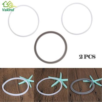 2Pcs Replacement Gasket Seal Rings for MAGIC BULLET NUTRI BULLET Blender 900W/600W/250W