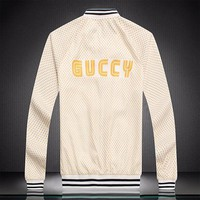 GUCCI Fashion Casual Cardigan Jacket Coat-17