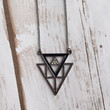 Jenelle Triangle Necklace (More Colors Available)