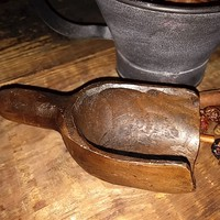 Primitive Treenware Mini Scoop