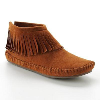 Mudd Moccasin Booties