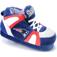 Comfy Feet NFL Sneaker Boot Slippers - New England Patriots
