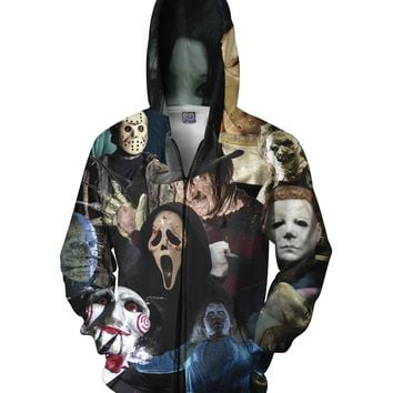 Cinema Killers Zip-Up Hoodie
