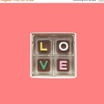 Just Because Gift I Love You for Men Boyfriend Him BF Girlfriend Her Women Gf 4 pc Jelly Bean Chocolate Cube AK Apo International Shipping