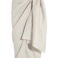 Joseph - Twill wrap skirt