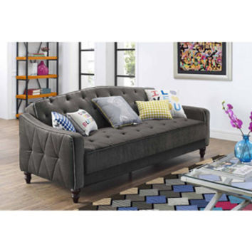 Walmart: 9 by Novogratz Vintage Tufted Sofa Sleeper II, Multiple Colors