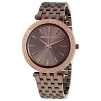 ONETOW Michael Kors MK 3416 Women's Darci Brown Watch