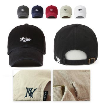 Unisex Mens Womens NY Vintage Flipper Faded Washed Out Baseball Cap Trucker Hats