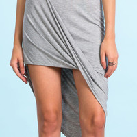 Taking Sides Asymmetric Skirt