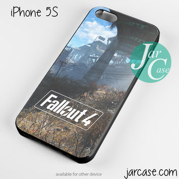 Fallout 4 Poster Art Phone case for iPhone 4/4s/5/5c/5s/6/6 plus