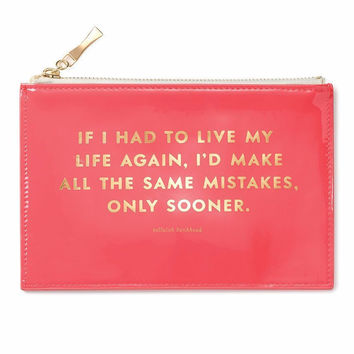 Same Mistakes Pencil Pouch by Kate Spade New York