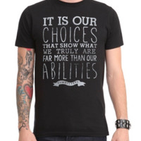 Harry Potter Dumbledore Quote T-Shirt