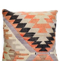 "16"" Kilim Pillow, Lilac Fire"