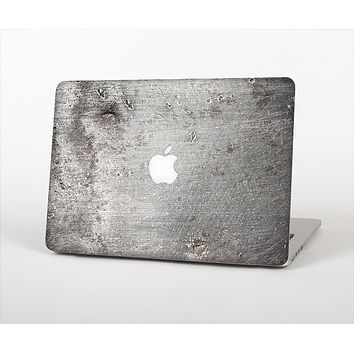 "The Grunge Gray Surface Skin Set for the Apple MacBook Pro 13"" with Retina Display"