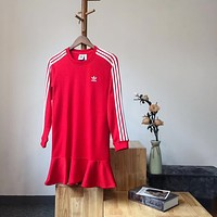 Adidas Originals Ruffle Dress