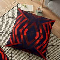 'Modified Architecture' Floor Pillow by hypnotzd
