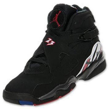 Boys' Grade School Air Jordan Retro 8 Basketball Shoes