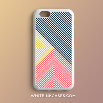 Handmade Colorful Stripes iPhone Case