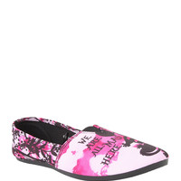 Disney Alice In Wonderland Cheshire Cat Slip-On Shoes