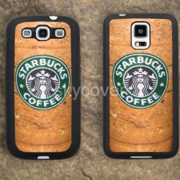 Starbucks ice cream Coffee iPhone Hard soft case for samsung galaxy s2 s3 s4 s5 case note 2 3 case iphoen 4/4s 5 5s 5c case A6