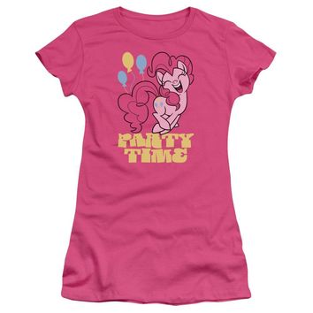 My Little Pony Juniors T-Shirt Party Time Hot Pink Tee