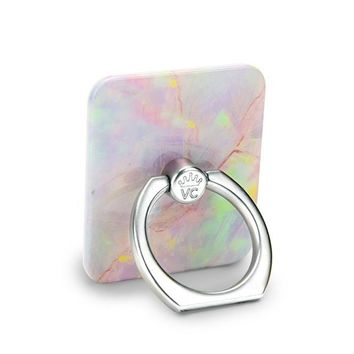 Cotton Candy Opal Phone Ring