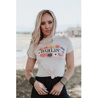 Daisy Darlin' Cropped Graphic Tee