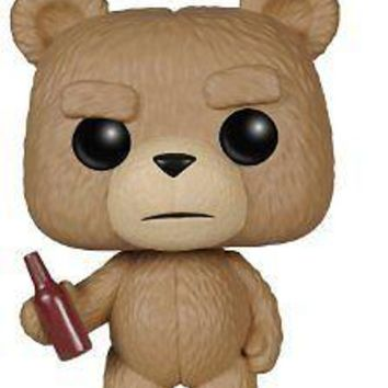 Funko Pop Movies: Ted 2 - Ted With Beer Vinyl Figure
