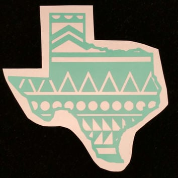 Texas Aztec decal, Aztec texas, texas, aztec, Decal, Yeti Decal
