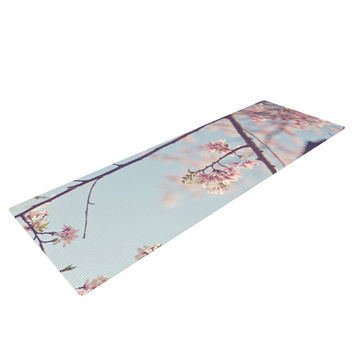 "Catherine McDonald ""Walk with Me"" Cherry Blossom Yoga Mat"