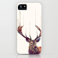 Red Deer // Stag iPhone Case by Amy Hamilton | Society6