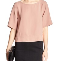 Banana Republic Factory Back Crossover Blouse
