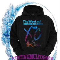 XO The Weeknd YMCMB Galaxy Nebula Sweatshirt hoodie gift valentine days