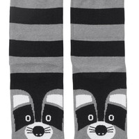 Monki | All accessories | Polly Sock Raccoon