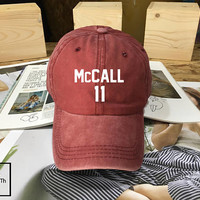 Teen Wolf Beacon Hills Lacrosse hat Maroon - Baseball Cap, Dad Hat Baseball Hat McCall 11 Baseball Cap , Low-Profile Baseball Cap Tumblr