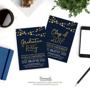 Best Graduation Party Invites Products on Wanelo