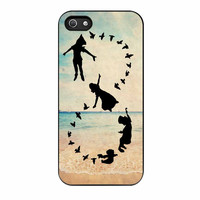 Peter Pan Never Grow Up Infinity Beach iPhone 5 Case