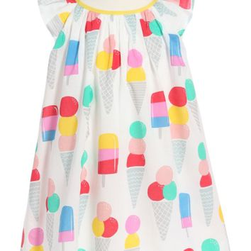 Mini Boden Print Dress (Toddler Girls, Little Girls & Big Girls) | Nordstrom