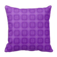 Purple stylish wood pattern throw pillows