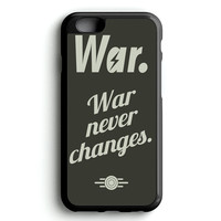 fallout 4 war never changes poster iPhone 4s iphone 5s iphone 5c iphone 6 Plus Case | iPod Touch 4 iPod Touch 5 Case