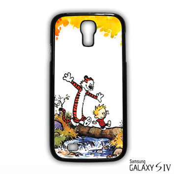 Calvin And Hobbes Smile for phone case Samsung Galaxy S3,S4,S5,S6,S6 Edge,S6 Edge Plus phone case