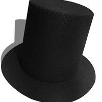 A006   Mini Top Tall Hat  High 9cm  Millinery Fascinator Base DIY Craft  Simple Solid Color Women Hats