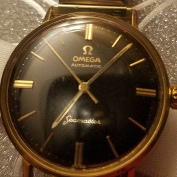 Vintage OMEGA Seamaster Automatic CAL.565 Black Dial Men's Watch