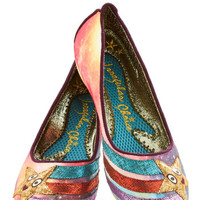 Irregular Choice Quirky Starship-Shape Heel