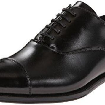 Stacy Adams Men's Kordell Cap-Toe Oxford, Black, 12 M US